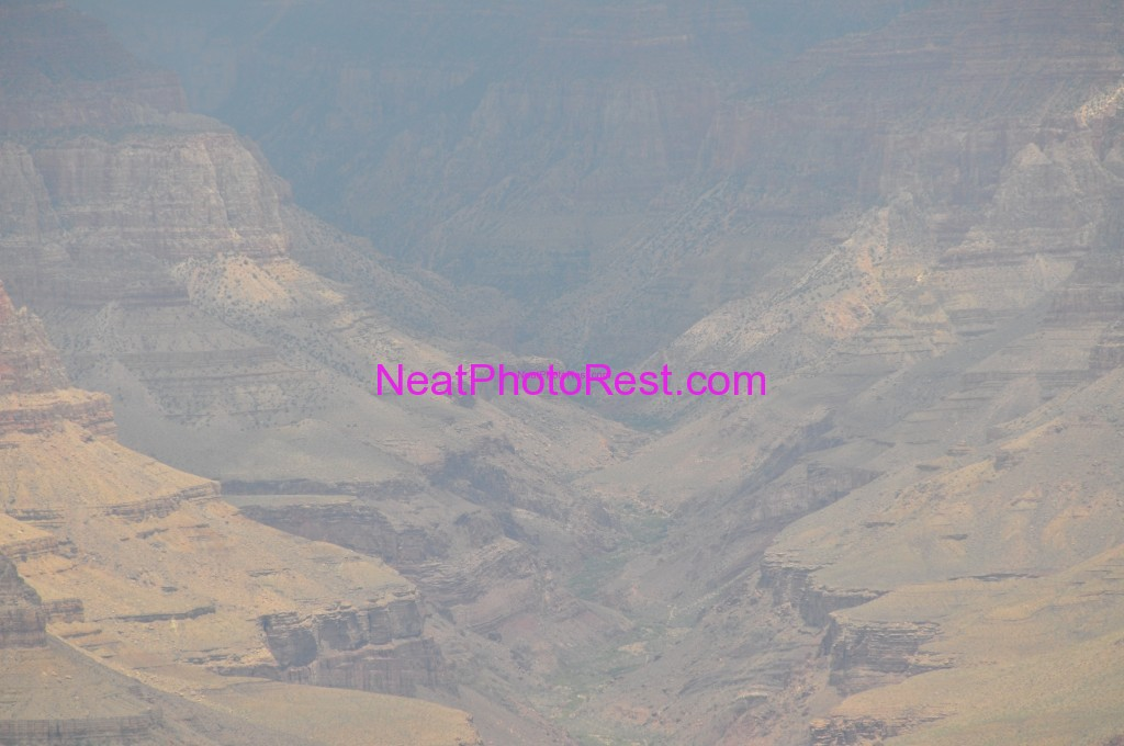 Grand Canyon looks hazy no contrast and dull colors