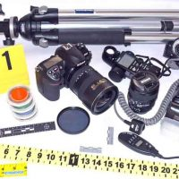 Crime Scene Photography Stages and Equipment
