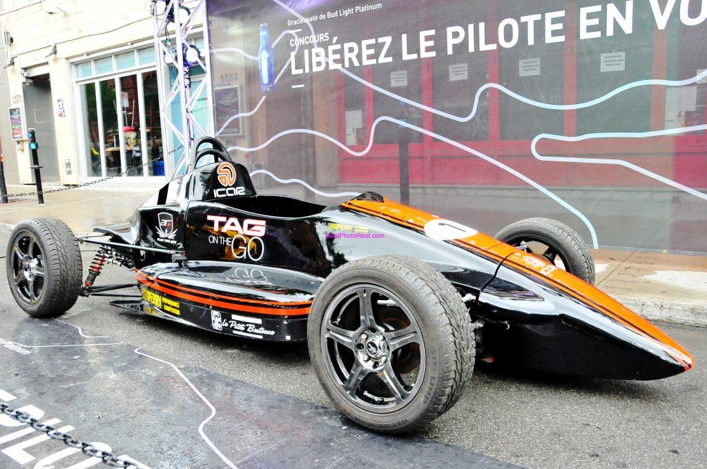 Grand Prix Race Car Black